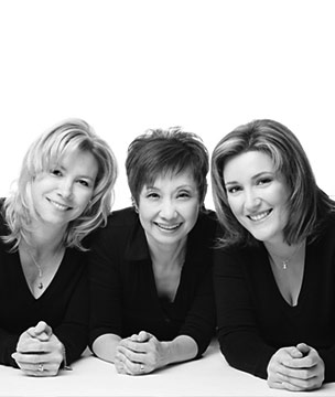 Artistic Directors Sandra Long, Penny Hodgson, and Kelly Gifford