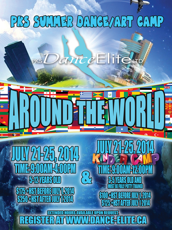 PKS_Around the World Poster